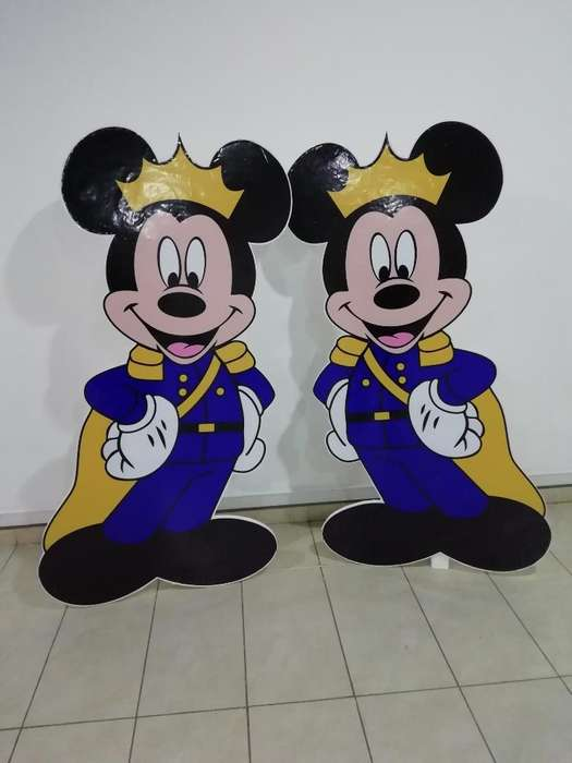 Mickey Mouse Principe para Decoracion