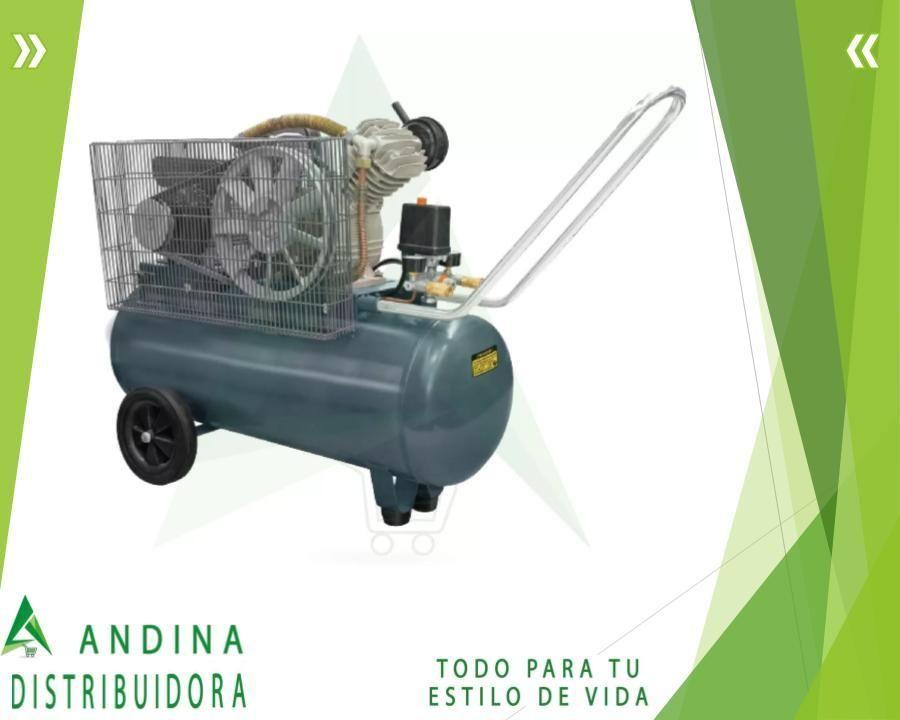 Compresor 2 Hp De Banda 110v 50 Litros Nuevo.