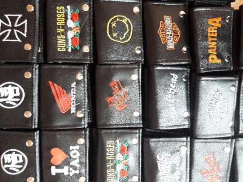 Billeteras de Rock, Anime Y Variados