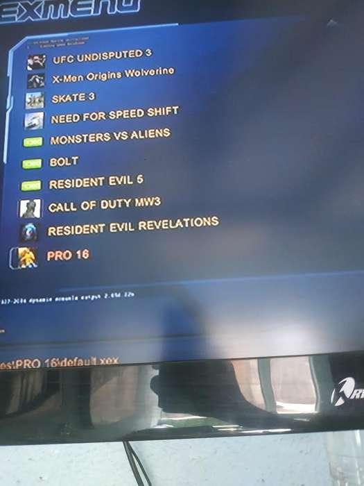Vendo Xbox 360 con Kinect Y Chip Rgh