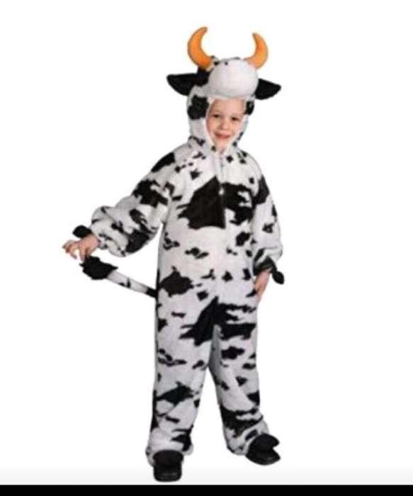Vendo Disfraz Niña Vaca Talla 2
