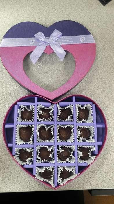 Chocolates Rellenos Artesanales