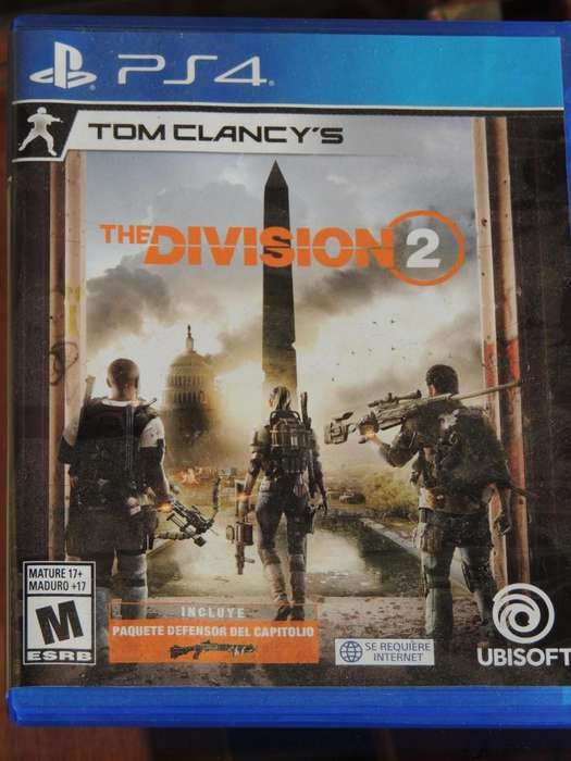 THE DIVISION 2 PS4 FISICO