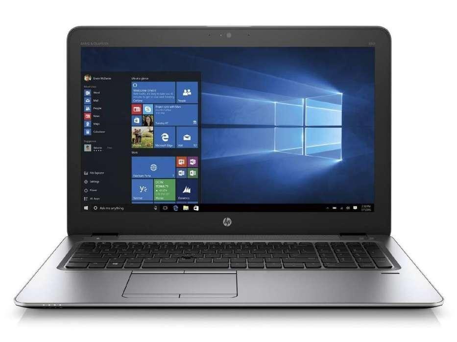 LAPTOP MUY POTENTE HP 850 G3 I7 6600 2.80 3.90 GHZ TURBO 8 GB RAM 9 GB VIDEO TOTAL 1 TB 15.6 HD EMPRESARIAL ETC.