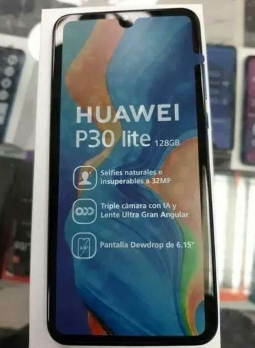 Huawei P30 Lite 128gb estuche