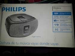 Reproductor Cd Philips Az391 Usb