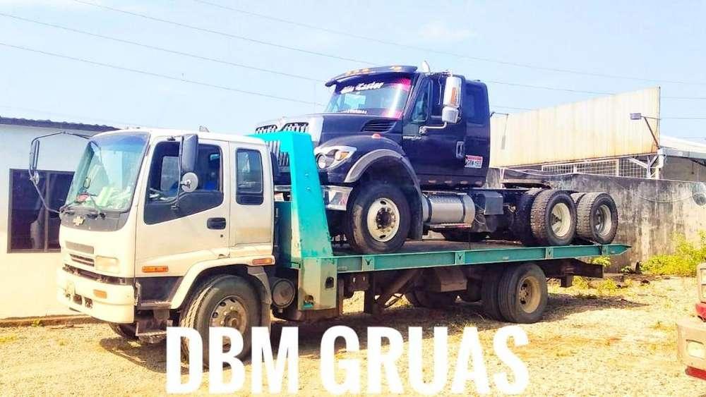 Servicio de Grúa para Camiones, Cabezal, Pesados y Maquinaria pesada