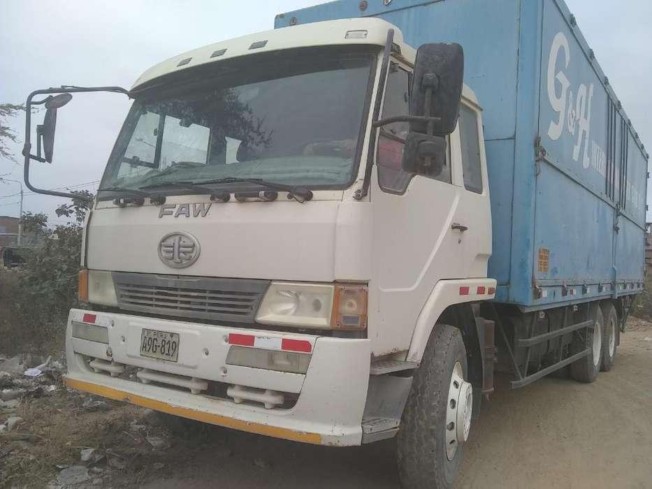 Vendo Camion Faw Año Modelo 2014