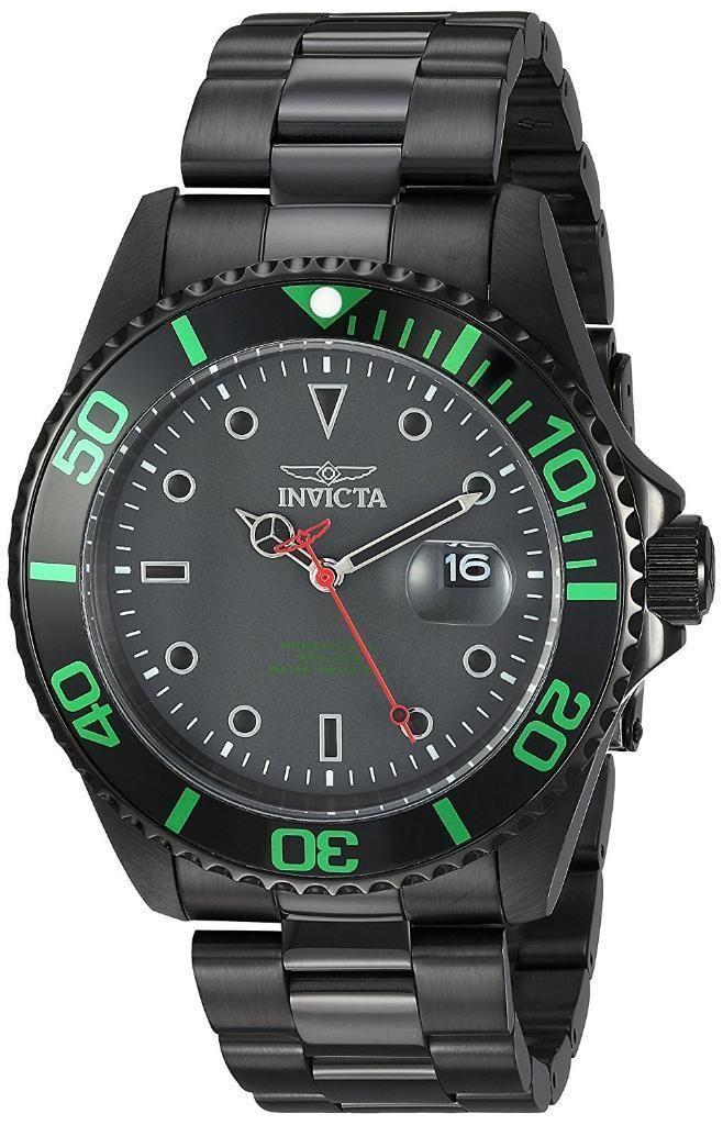 a1036cf50749 Reloj Invicta Pro Diver Acero Militar Negro Nuevo Original. Relojes hombre Fossil  Guess
