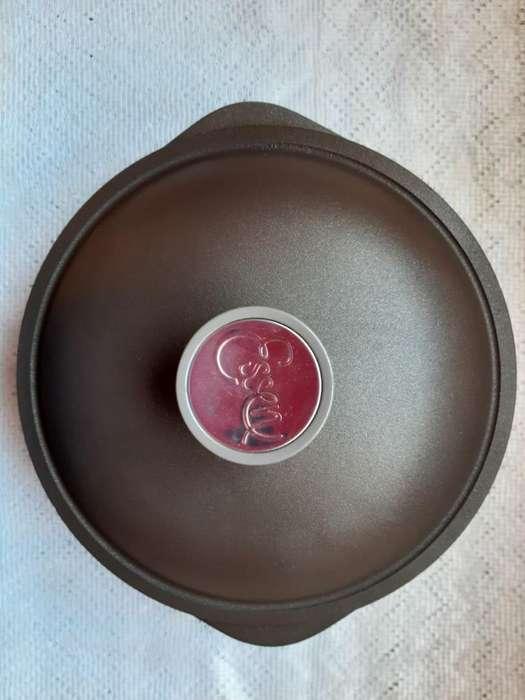 restaurada a 0 km Cacerola 24 Cm Essen con Antiadherenteideal para una cocina de hogar la hora del mate y termo