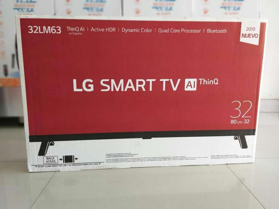 <strong>televisor</strong> Lg 32 Pulgadas Smartv
