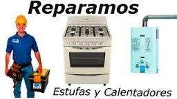 ESTUFAS CALENTADORES GAS REPARACIONES
