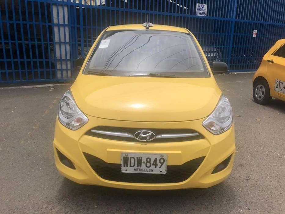 Taxi Hyundai I10 2014 Medellín tax super , Recibo Usado O Cupo