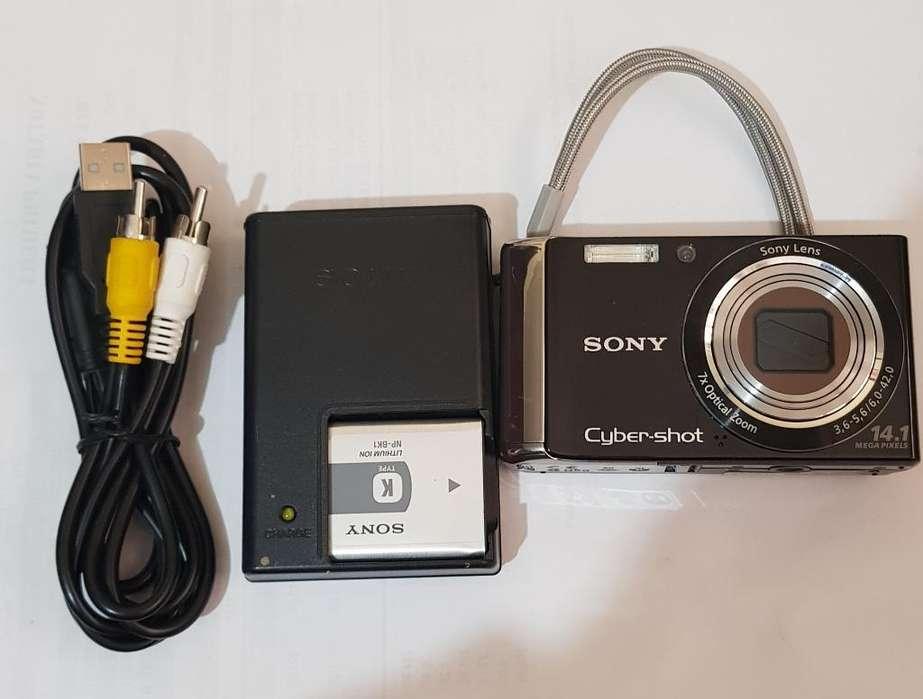 Camara Sony 14.1mpx Dscw370