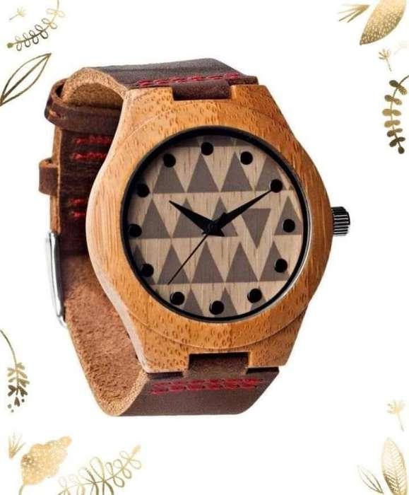Relojes de Madera Qiru Ecológicos
