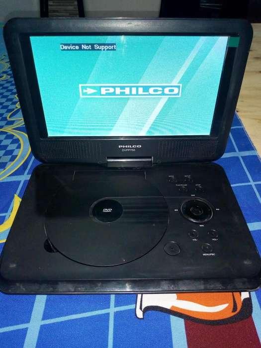 DVD porttil philco
