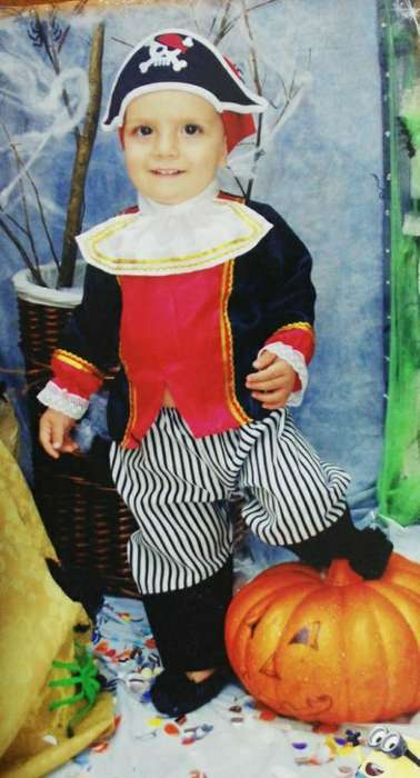 Disfraz Niño Pirata Fantastic Night12-18