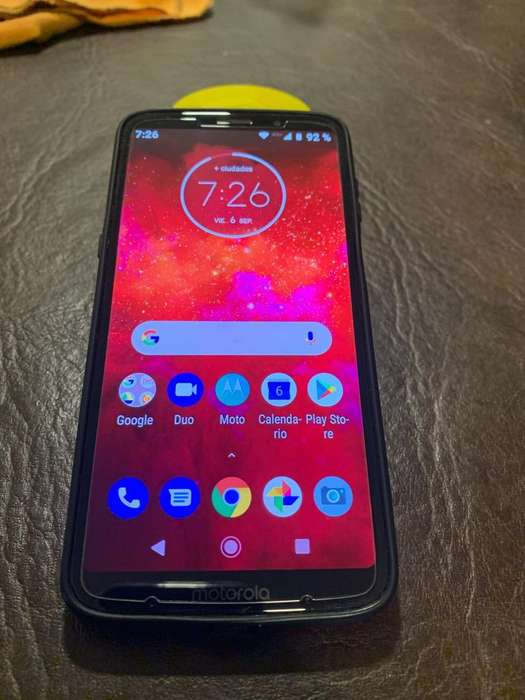 Moto Z3 Play Impecable