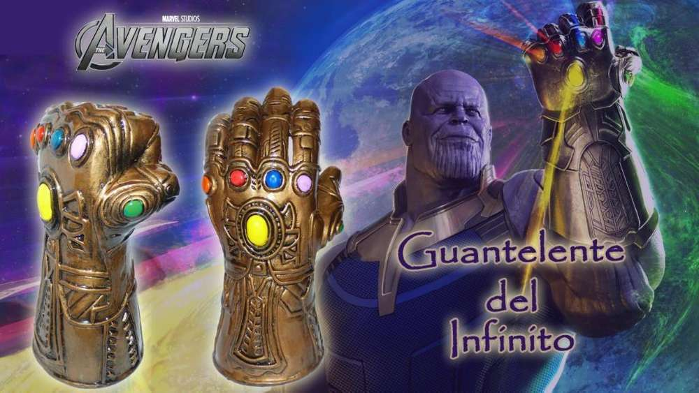 Guante de Thanos en Porcelana