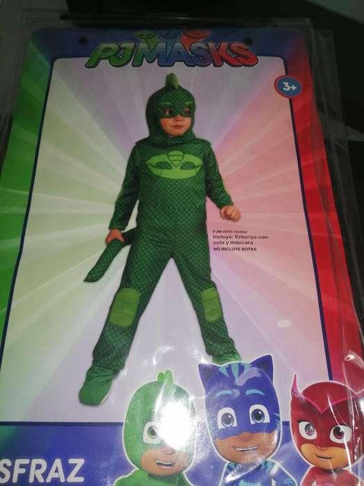 Disfraz de Heroes en Pijamas Talla 4