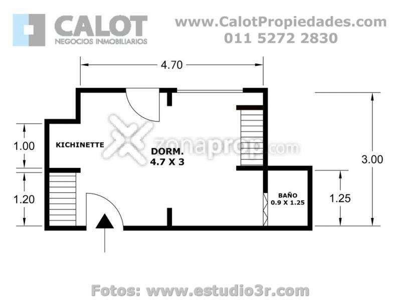 Alquiler Temporal en Palermo - Nicaragua 6000