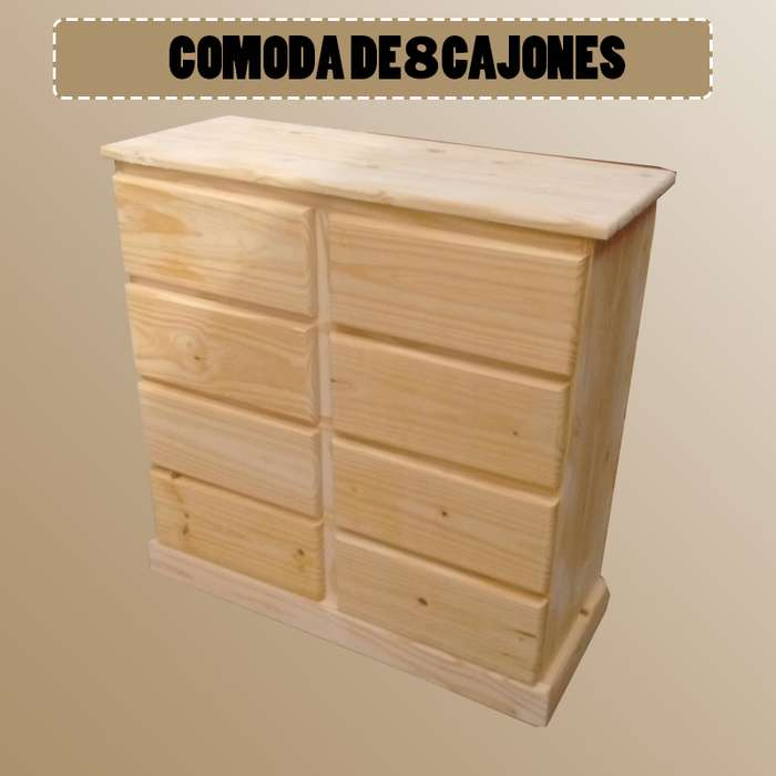 COMODA DE 6 CAJONES