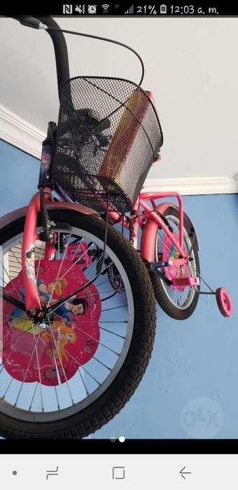 Bicicleta para Niña Poco Uso