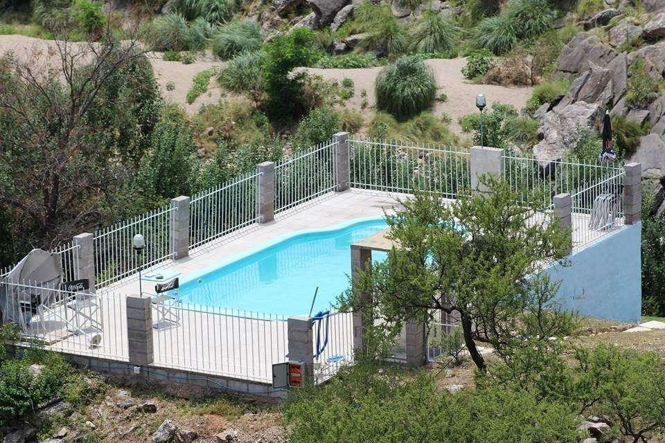 fu36 - Cabaña para 2 a 7 personas con pileta y cochera en Trapiche
