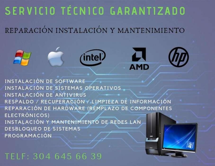 Servicio Tecnico Especializado de Pc