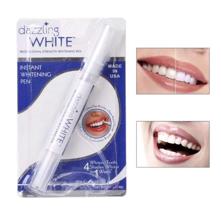 Lapiz Blanqueador Dental De Gel De Peróxido