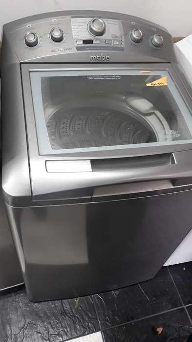 Lavadora Mabe 34 Libras Gris