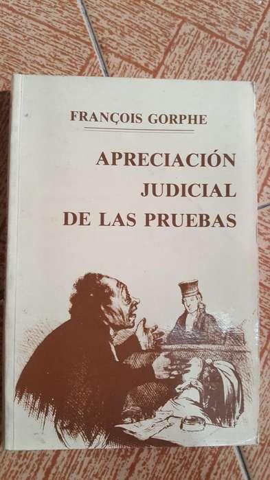 Apreciación judicial de las pruebas. Francois Gorphe.