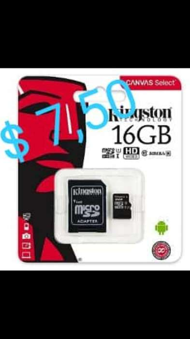 Micro Sd Kingston Clase 10 de 16g, 32g,