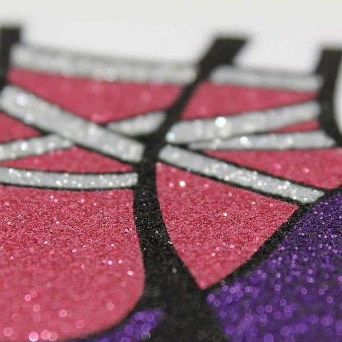 vinilo sublimable subli-Glitter gris