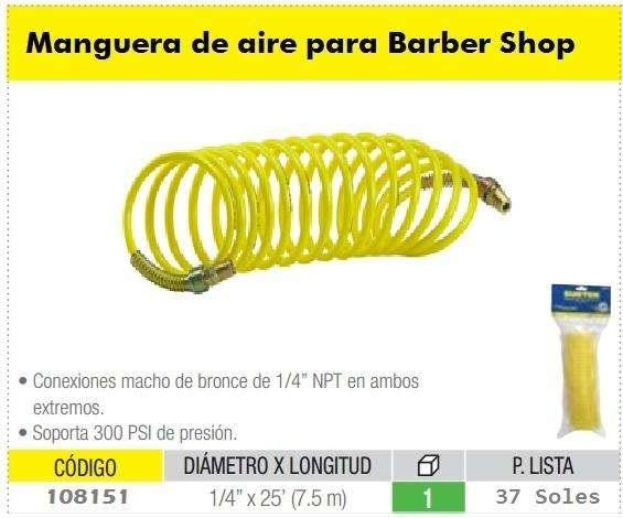 barber shop barberias compresoras mangueras