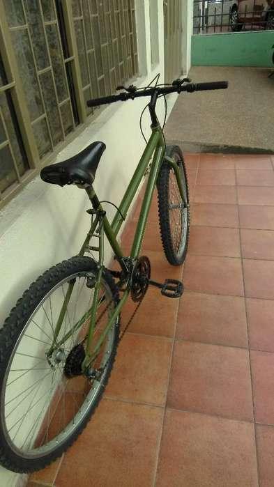 Se Vende Bicicleta Verde Militar