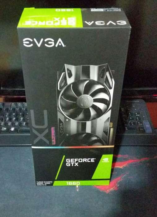 Tarjeta Gráfica Evga Geforce Gtx 1660 Xc Ultra 6 Gb Gddr5