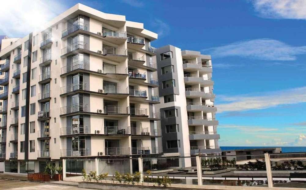 H/ Tonsupa!! venta de lujoso departamento frente al mar, en exclusivo edificio!