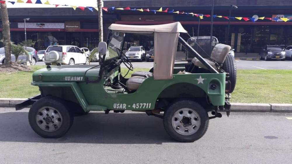 <strong>jeep</strong> Willys 1950 - 1000 km