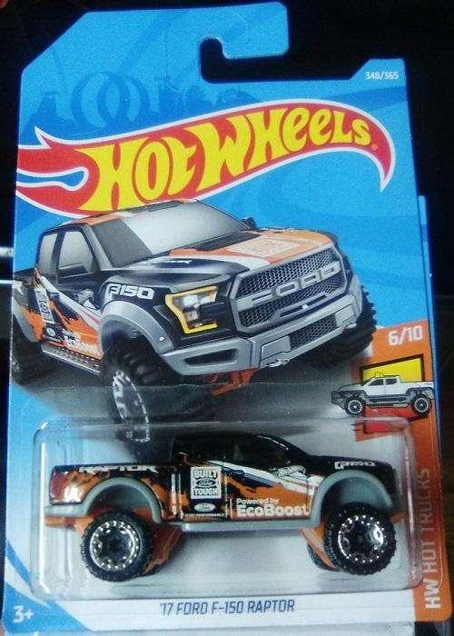 Hot Wheels Camioneta '17 Ford F-150 Raptor