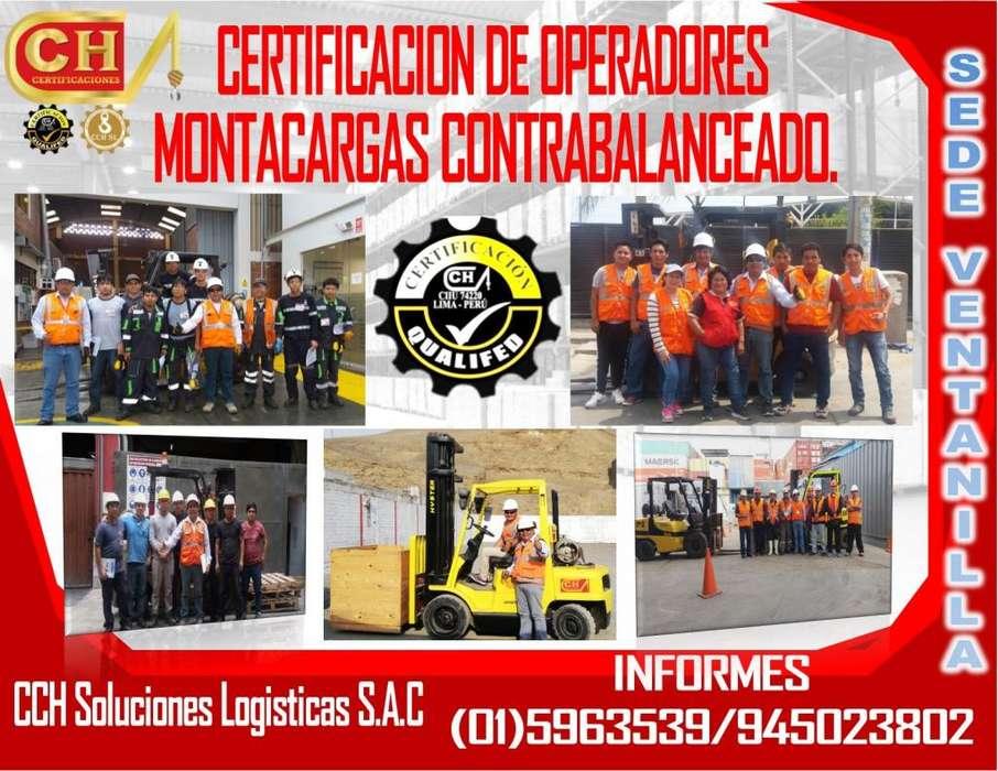 OPERADORES DE MONTACARGAS, ANSI B56.1 FORMACION ..CERTIFICACION Y HOMOLOGACION