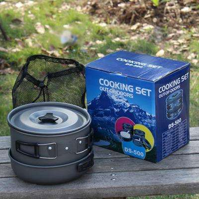 Set de cocina para Camping cooking set outdoor