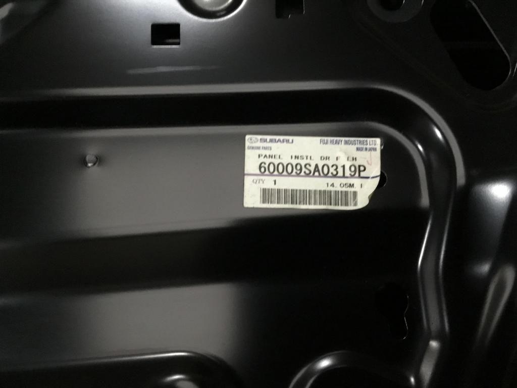 Puerta delantera Izquierda Subaru Forester 2003-2008