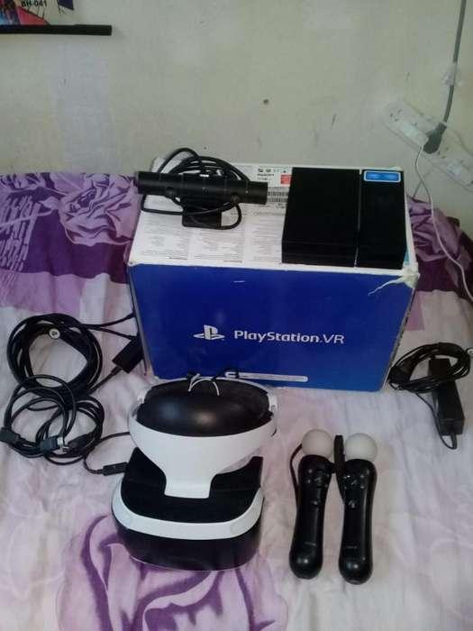Playstation Vr Camara 2 Move Y Juego