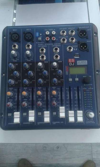 Consola 4 Canales USB England Sound