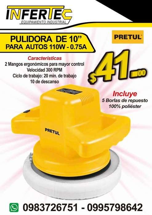 PULIDORA PARA AUTOS 110W - 0.75A