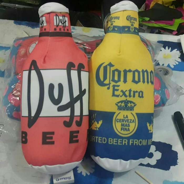 Botellas Homero Simpson Duff & Corona