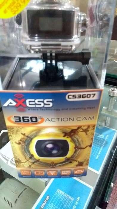 Cámara de Acción 360 Axess Cs3607 1080p