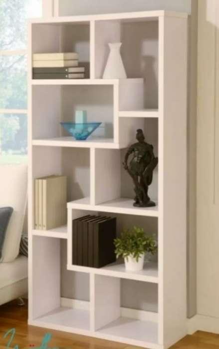 Modular Mueble Biblioteca Rack Cubos Divisor Ambientes