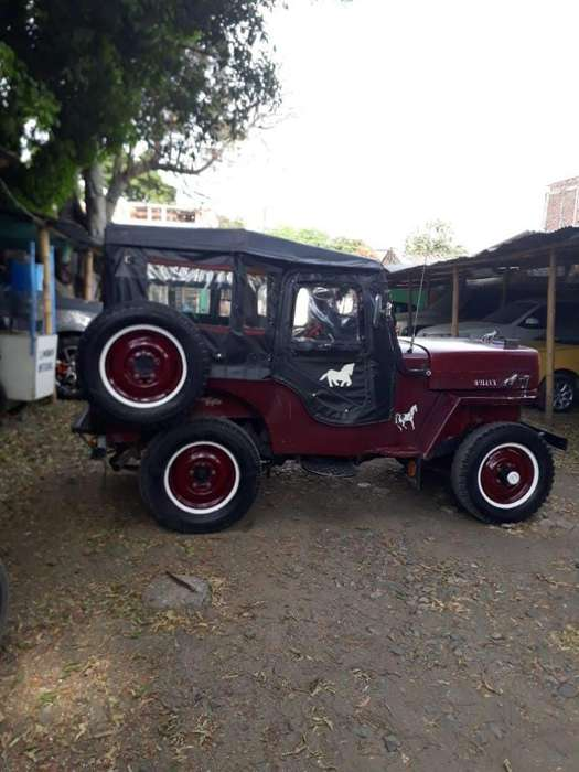 <strong>jeep</strong> Willys 1953 - 15000 km